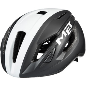 MET Strale Casco, black/white panel